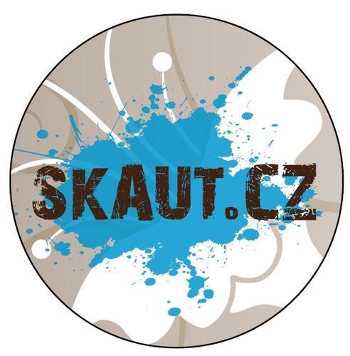 Placka 25 Skaut.cz hnědá 01 - 2