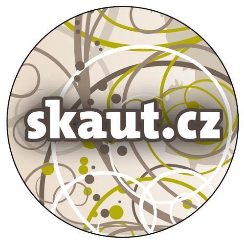 Placka 32 Skaut.cz šedá - 2