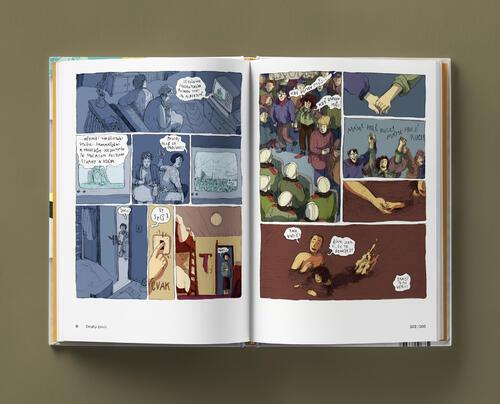 Odvaha je volba s podpisy autorů - skautský komiks - 2
