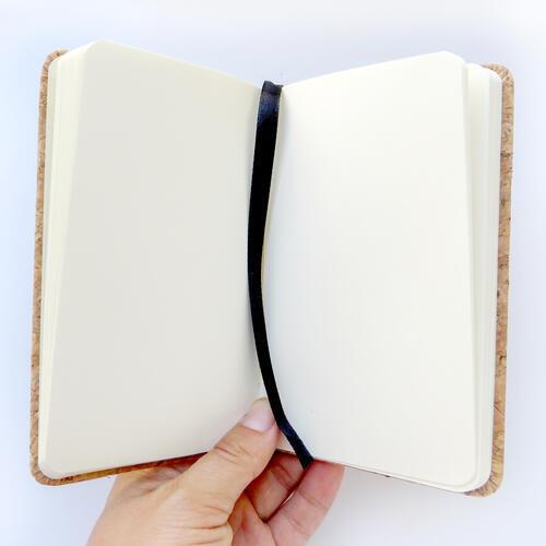 Korkový zápisník A5 skaut - 2