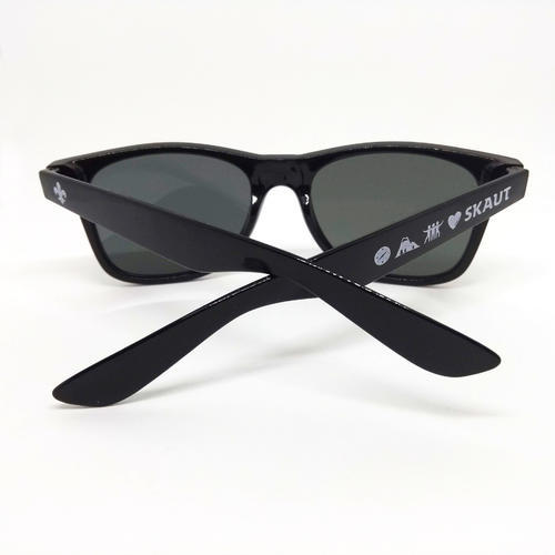 Brýle sluneční černé UV400 - 2