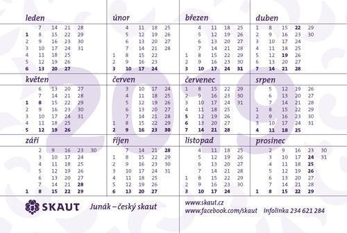 Kalendářík Betlémské světlo 2019 100 ks - 2