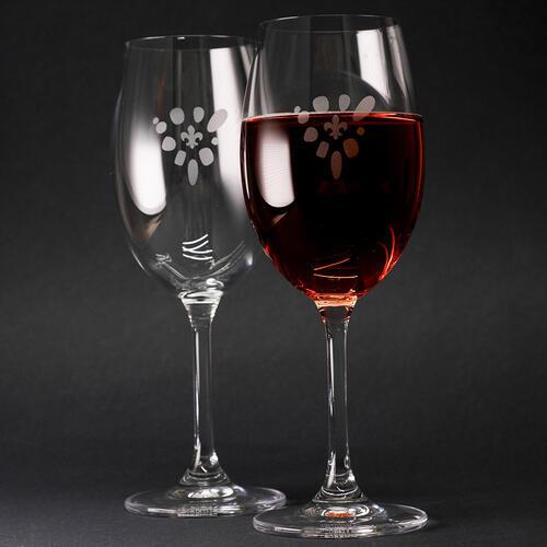 Sklenice na víno 2 ks - 2