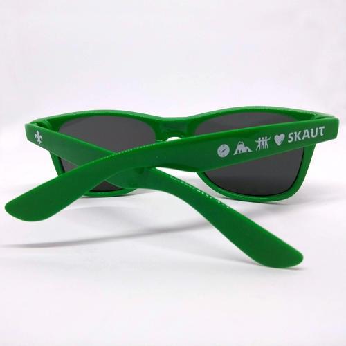 Brýle sluneční zelené UV400 - 2