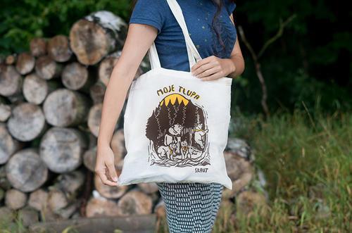Bavlněná taška - Moje tlupa - 3