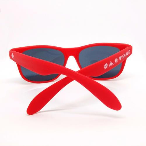 Brýle sluneční červené UV400 dětské - 3