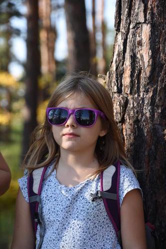 Brýle sluneční fialové UV400 - 3