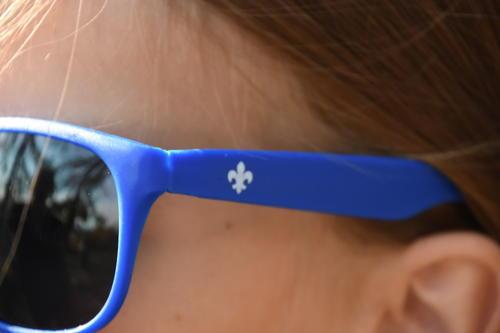 Brýle sluneční modré UV400 dětské - 3