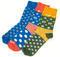 Ponožky SKAUT zelenožluté 32-35, 32-35 - 3/3