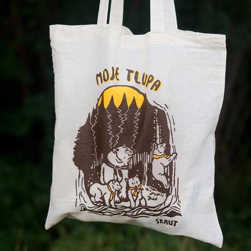 Bavlněná taška - Moje tlupa - 4