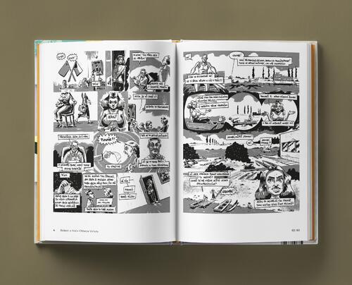 Odvaha je volba s podpisy autorů - skautský komiks - 4