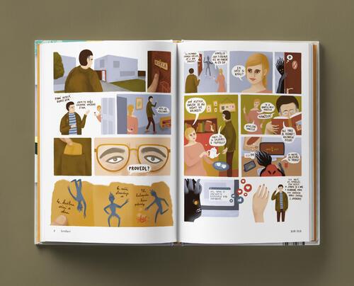 Odvaha je volba s přebalem - skautský komiks - 4