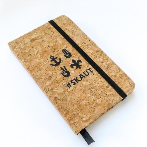 Korkový zápisník A5 skaut - 4