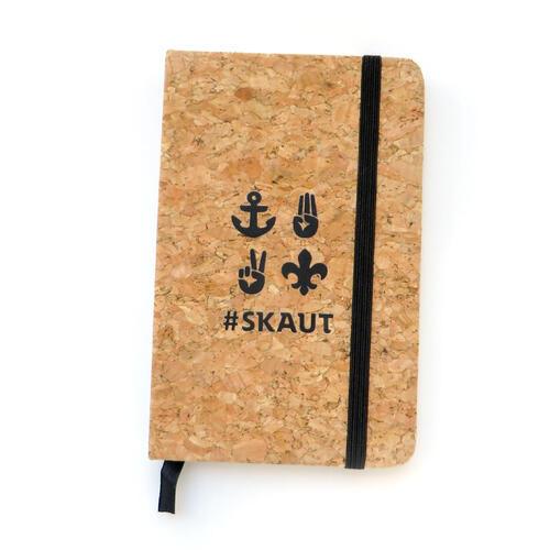 Korkový zápisník Skaut - 4