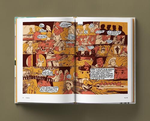 Odvaha je volba s podpisy autorů - skautský komiks - 5
