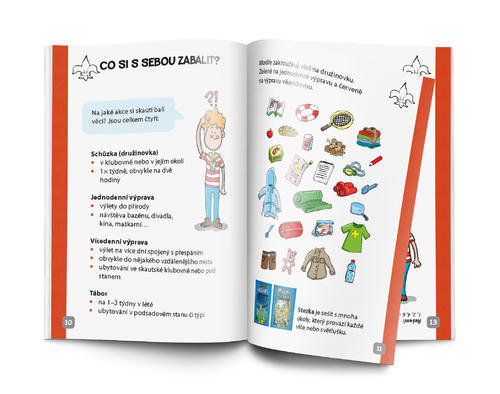 Zápisník pro malé skauty - 5