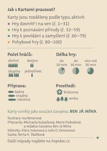 Karty Ben Já Mína, bez kapsičky - 6