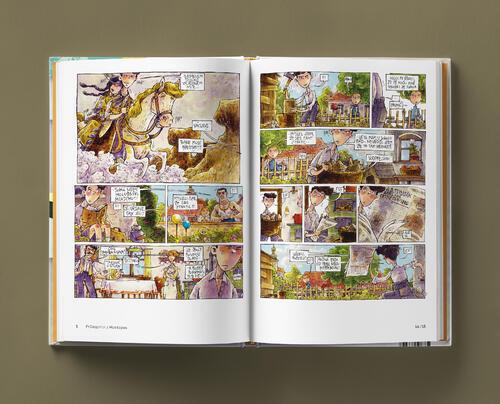Odvaha je volba s podpisy autorů - skautský komiks - 7